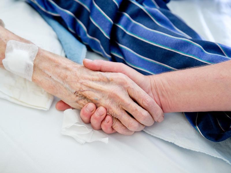 Bild zu Krebs-Patient