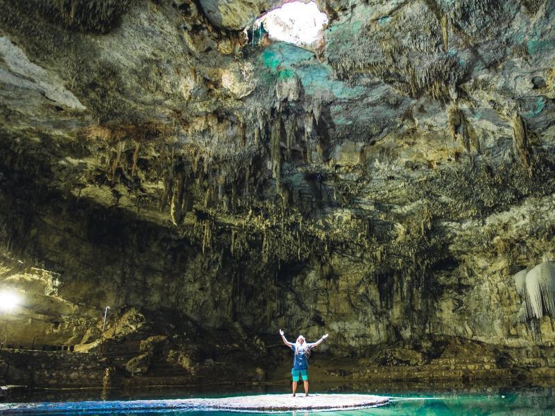 Bild zu Höhle in Mexiko