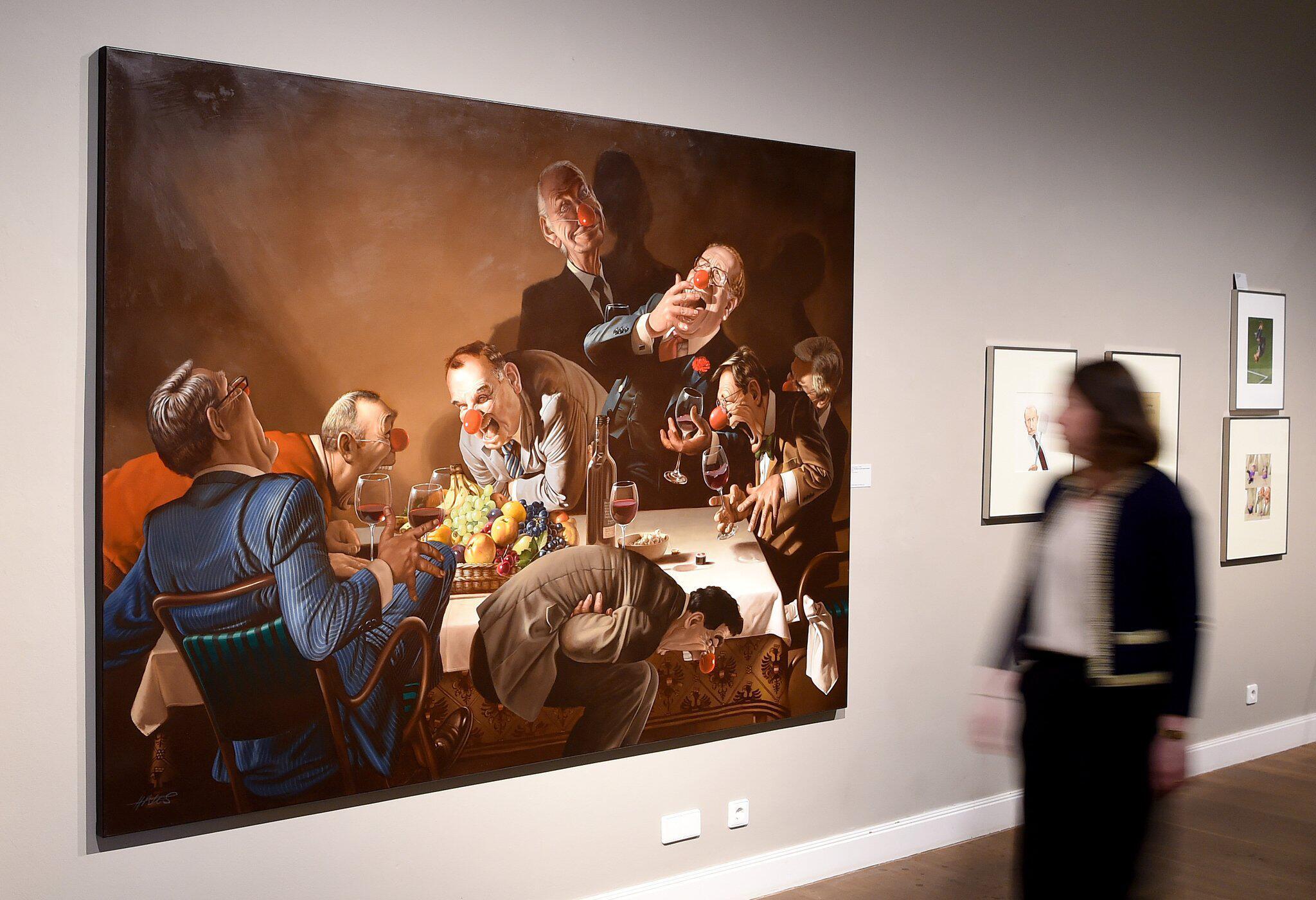 Bild zu Gerhard Haderer exhibition in Hanover