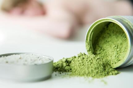 Grüner Tee für die Haut