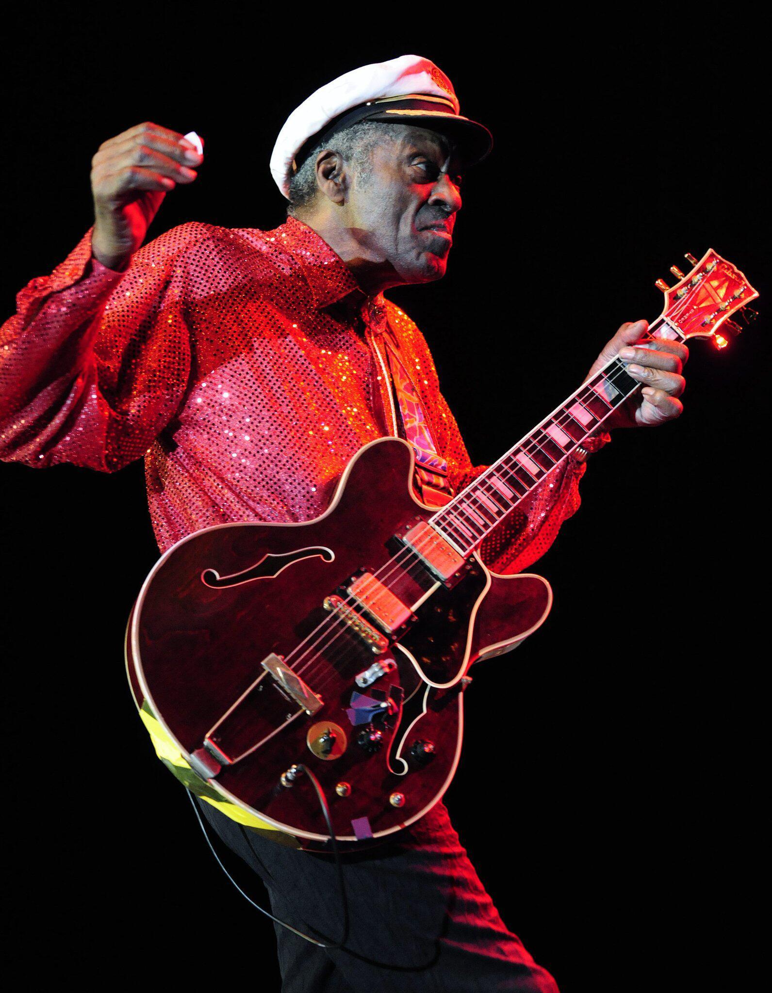 Bild zu Chuck Berry gestorben