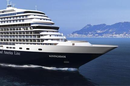 «Koningsdam» auf See
