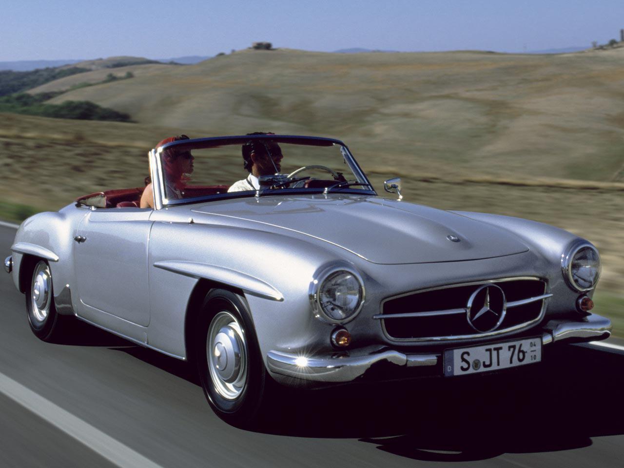 Bild zu Mercedes-Benz 190 SL (W 121 B II)