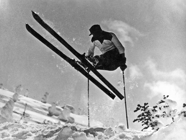 Bild zu Geschichte des Skifahrens