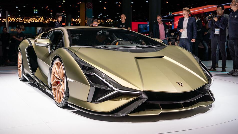 PS-Hommage an Piëch: Hybridrenner Lamborghini Sián FKP 37