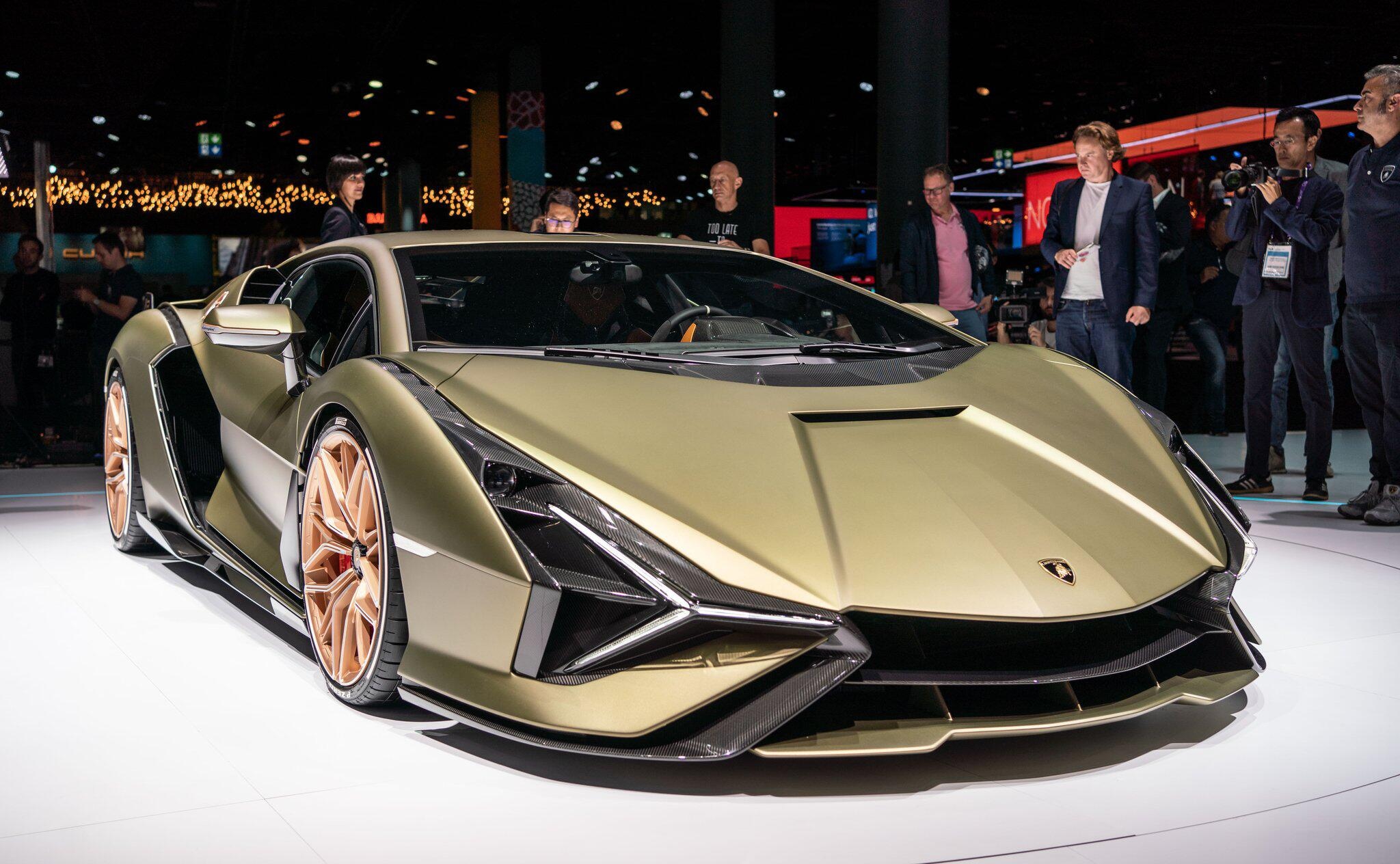 Bild zu PS-Hommage an Piëch: Hybridrenner Lamborghini Sián FKP 37