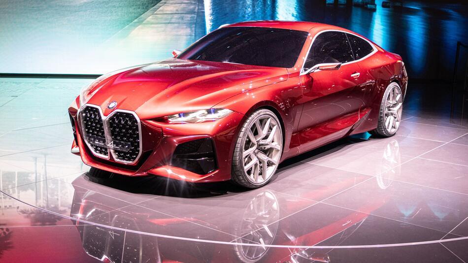 Neuauflage: BMW Concept 4 gibt Ausblick auf neue Vierer-Reihe