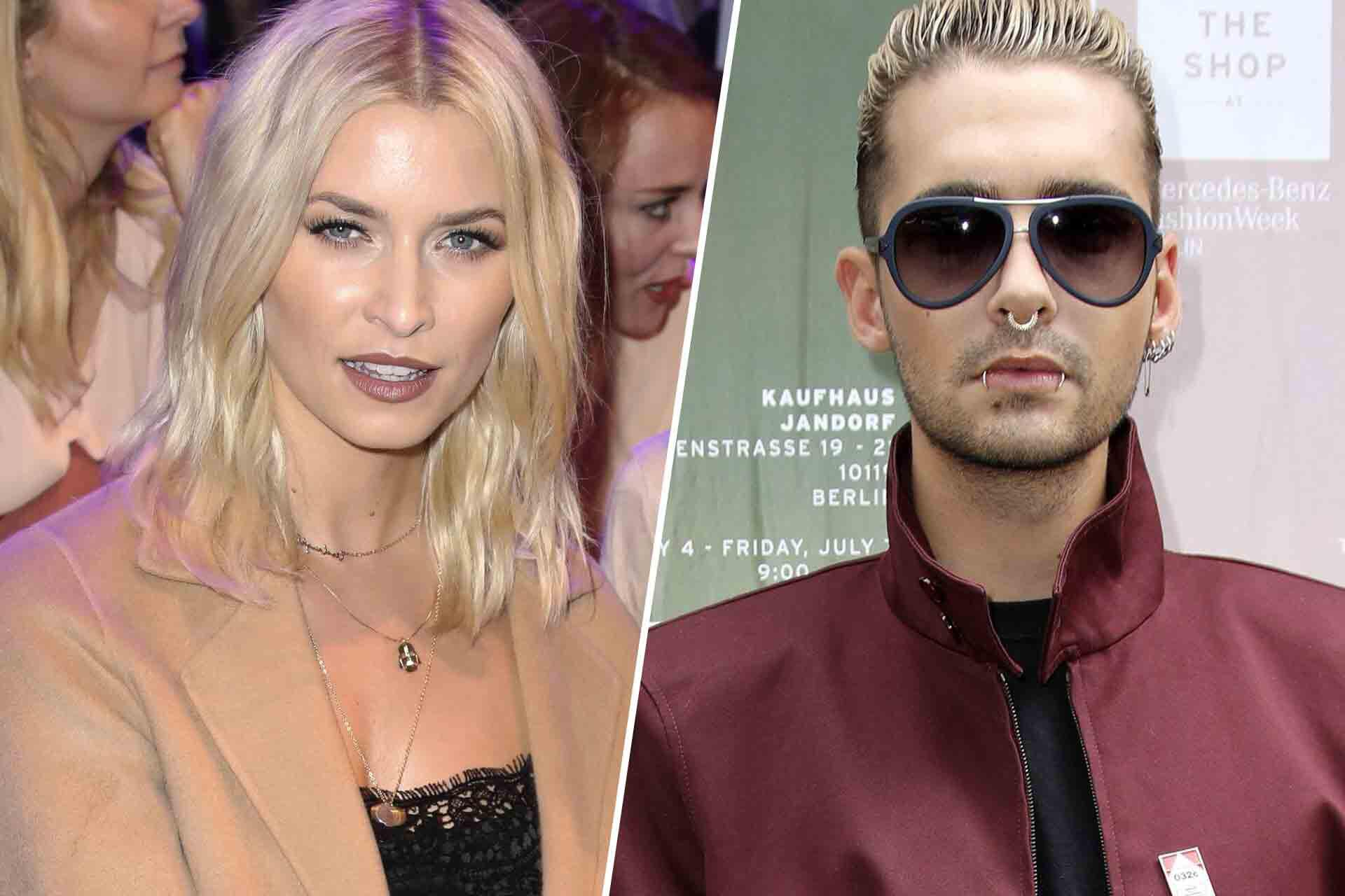 Bild zu Lena Gercke, Bill Kaulitz, Berlin, Fashion Week, 2017
