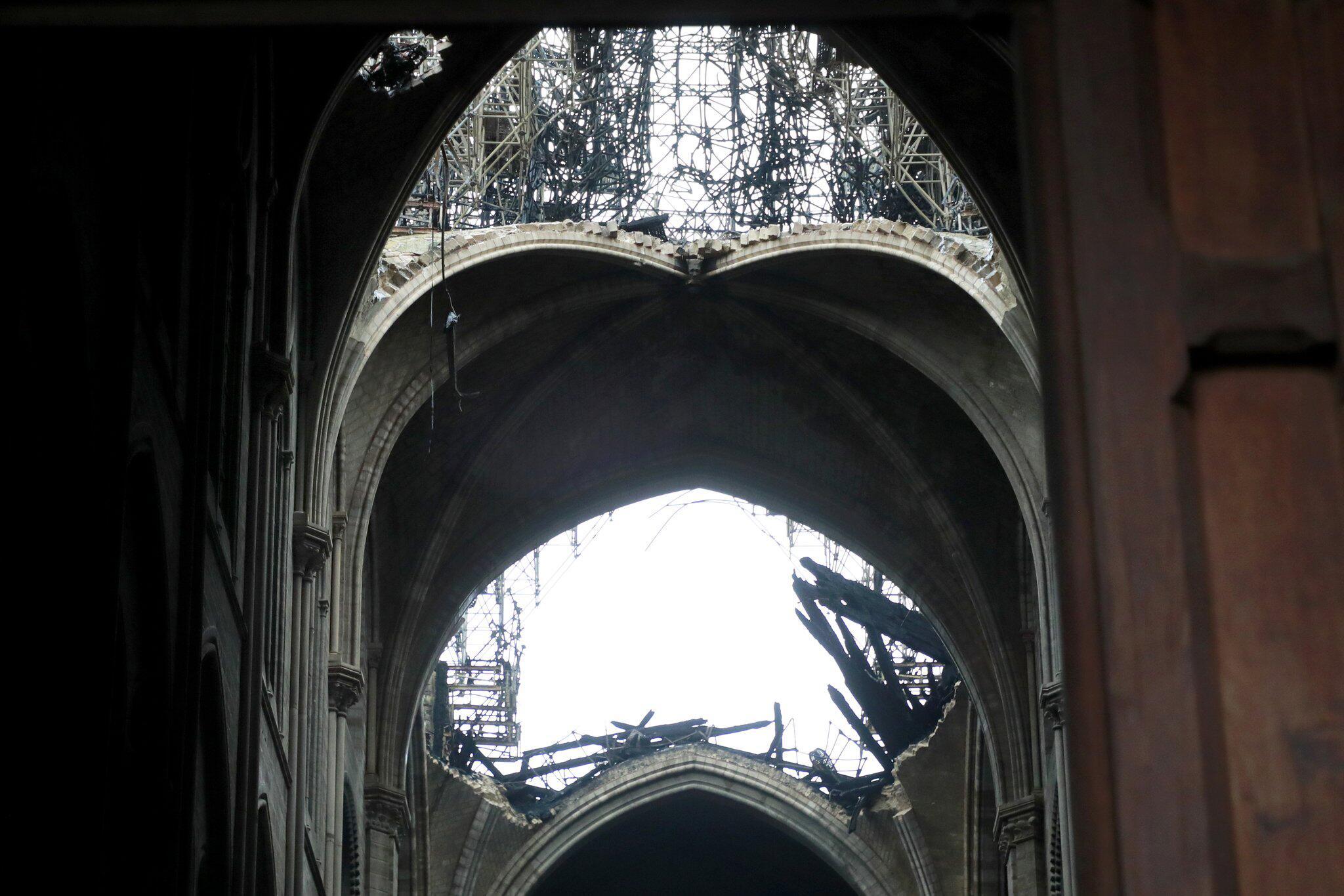 Bild zu Notre-Dame, Paris, Kathedrale, Feuer, Brand