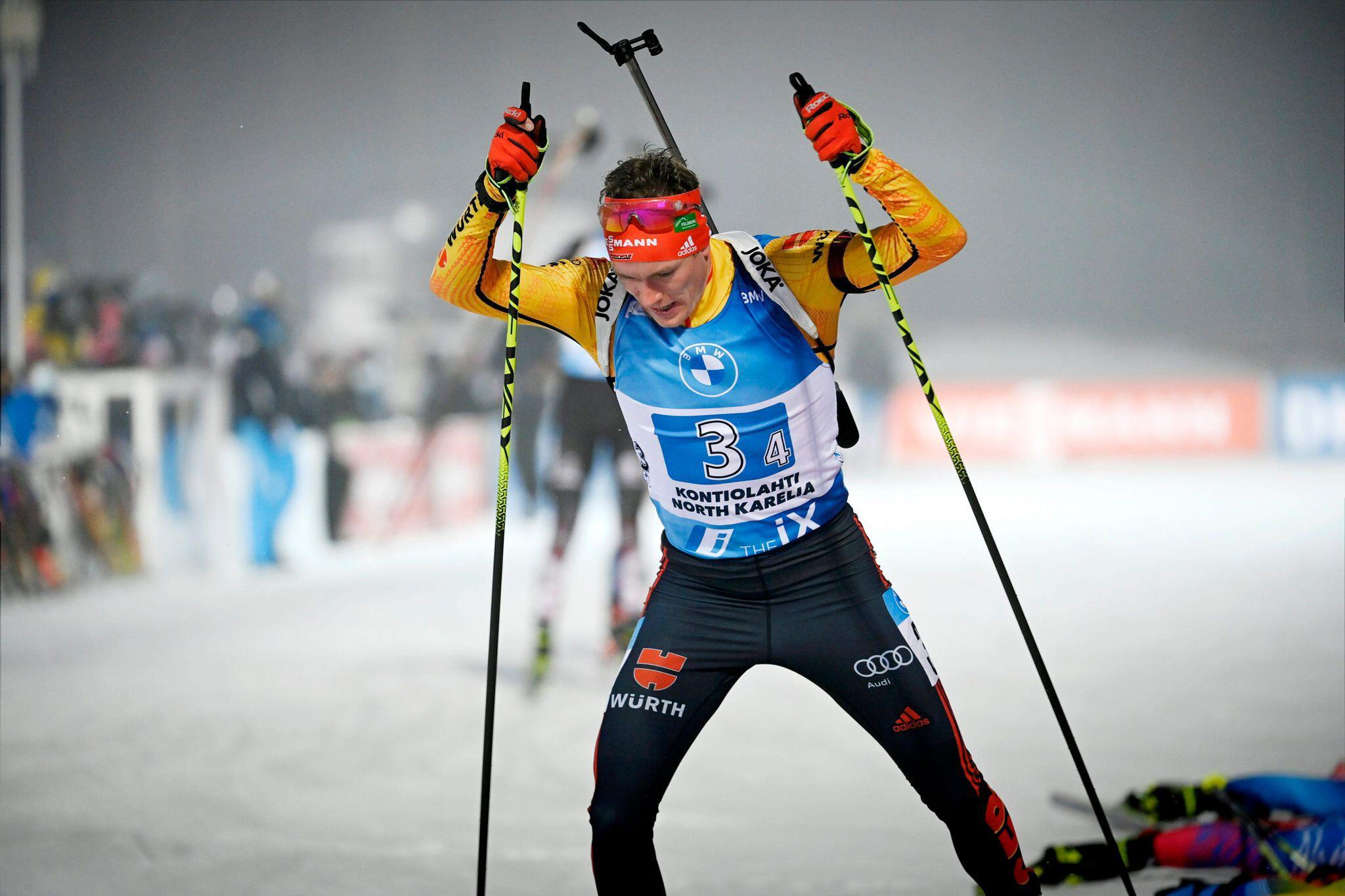 Bild zu Biathlon-Weltcup in Finnland