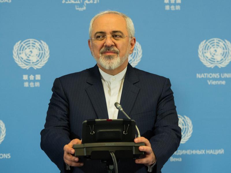 Bild zu Irans Außenminister Mohammed Dschawad Sarif