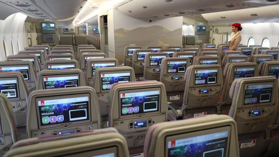 Airbus A380 - Innenraum