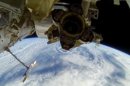 Rendered Vegas Spacewalk