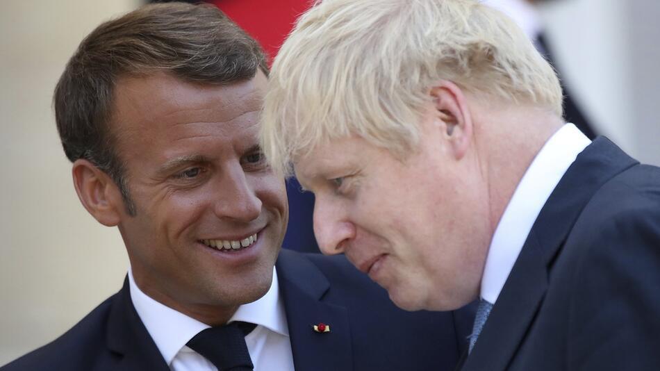 Britischer Premierminister Johnson in Paris