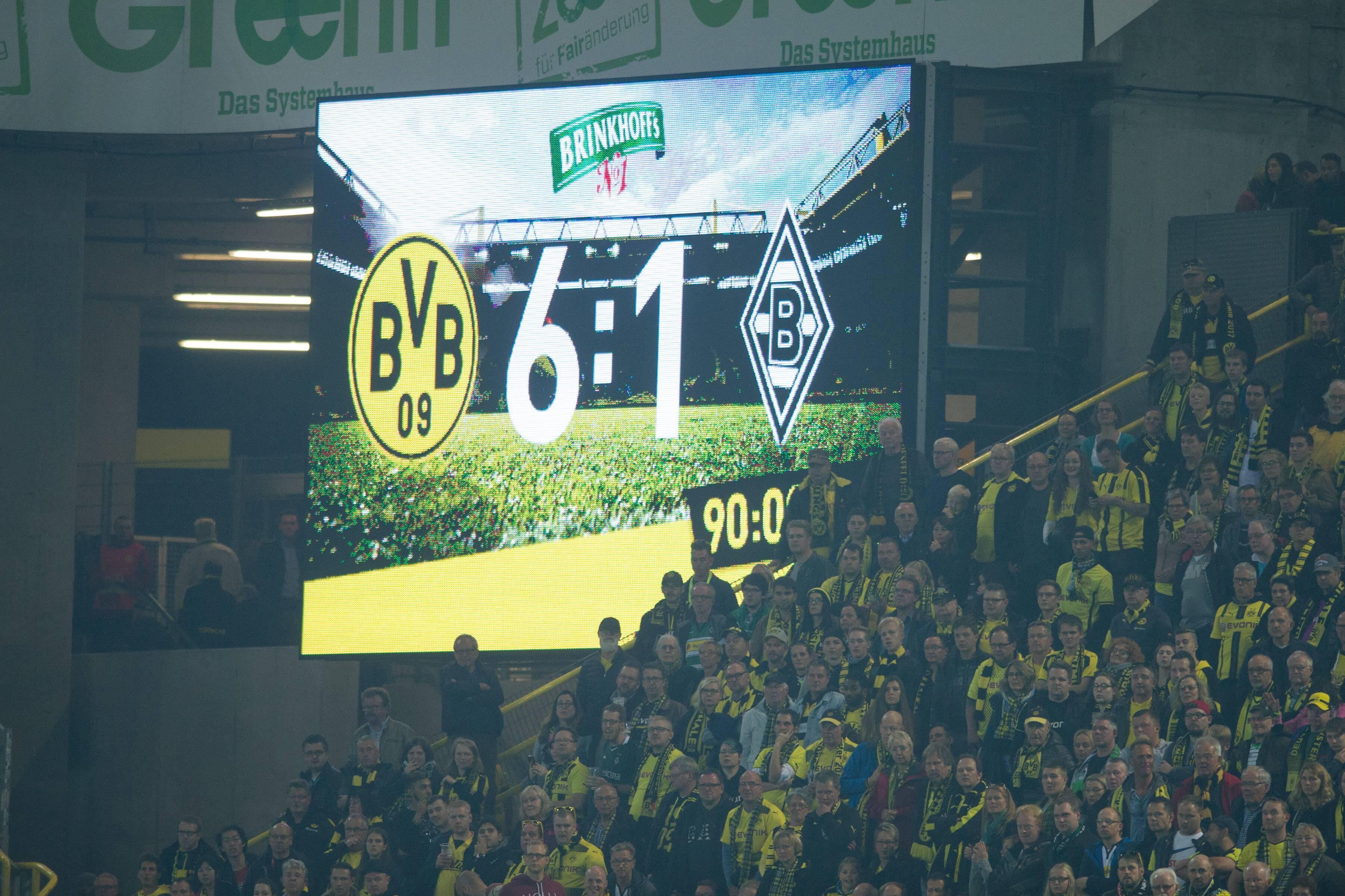 Bild zu Borussia Mönchengladbach, Real Madrid, Borussia Dortmund