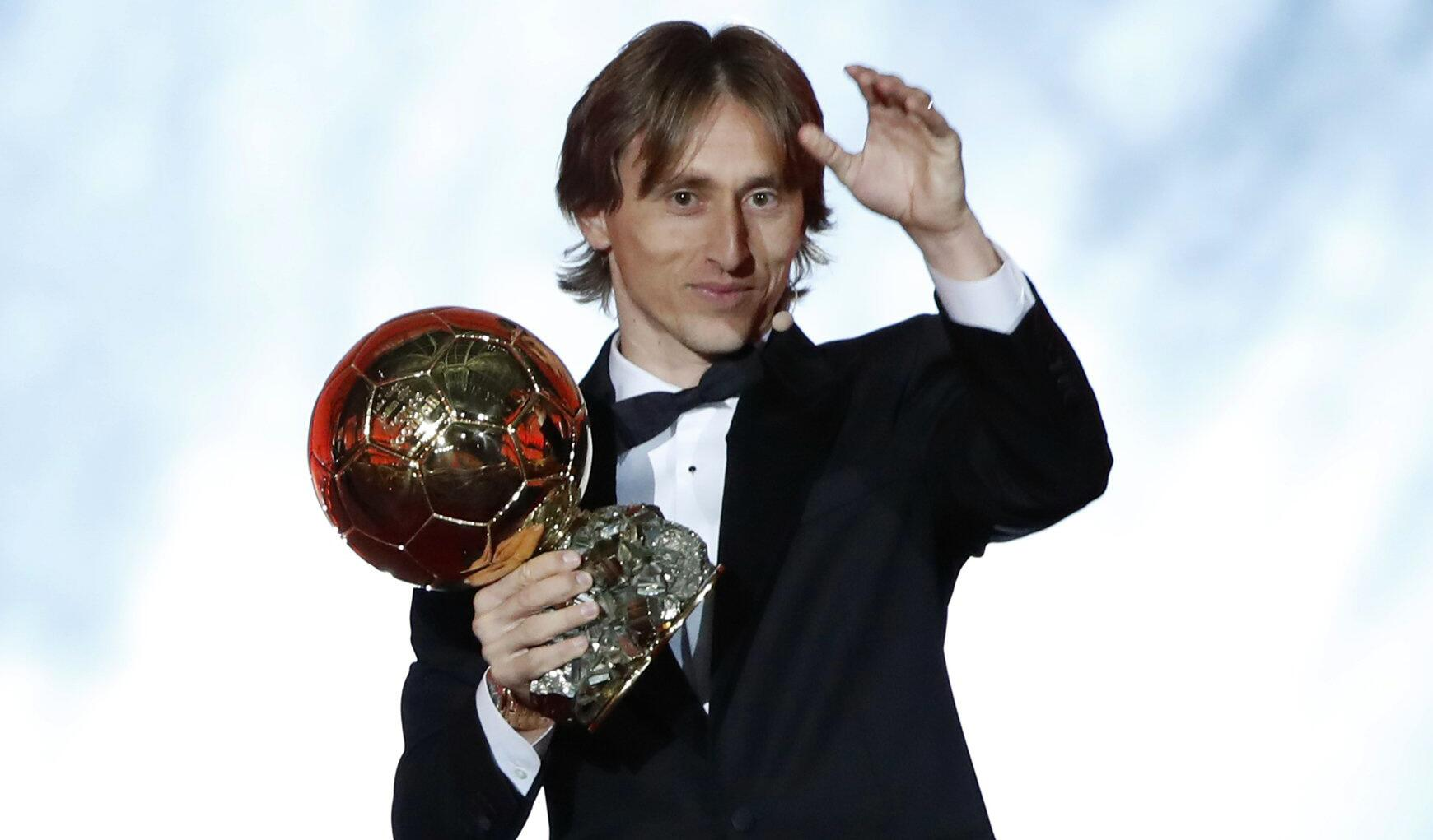 "Bild zu ""Ballon d'Or"" in Paris"