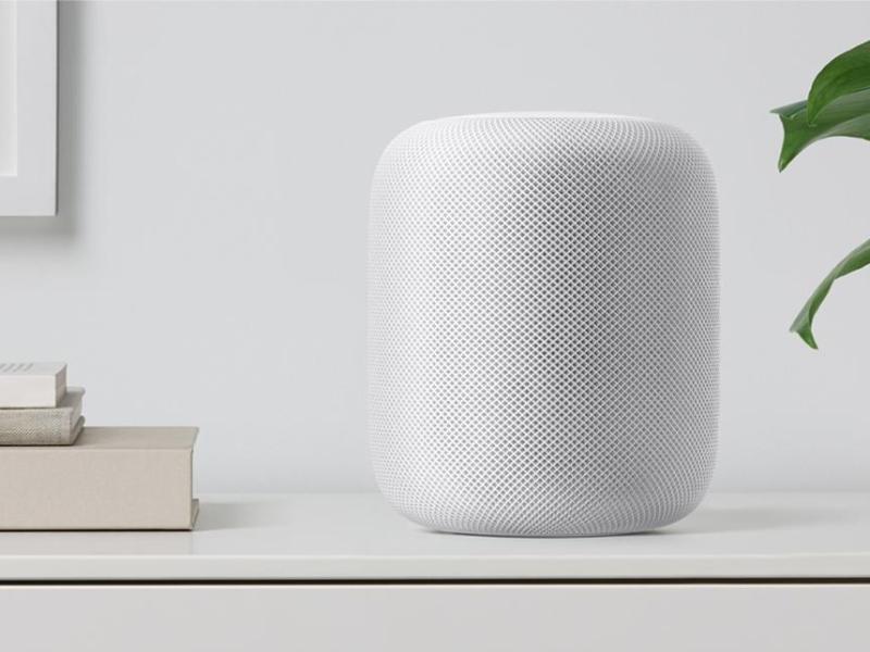 Bild zu Apples HomePod in Weiß