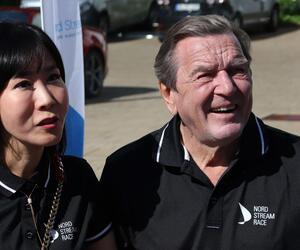 Gerhard Schröder, Soyeon Schröder-Kim, Kiel, Kieler Woche, Segeln, Nordstream Race