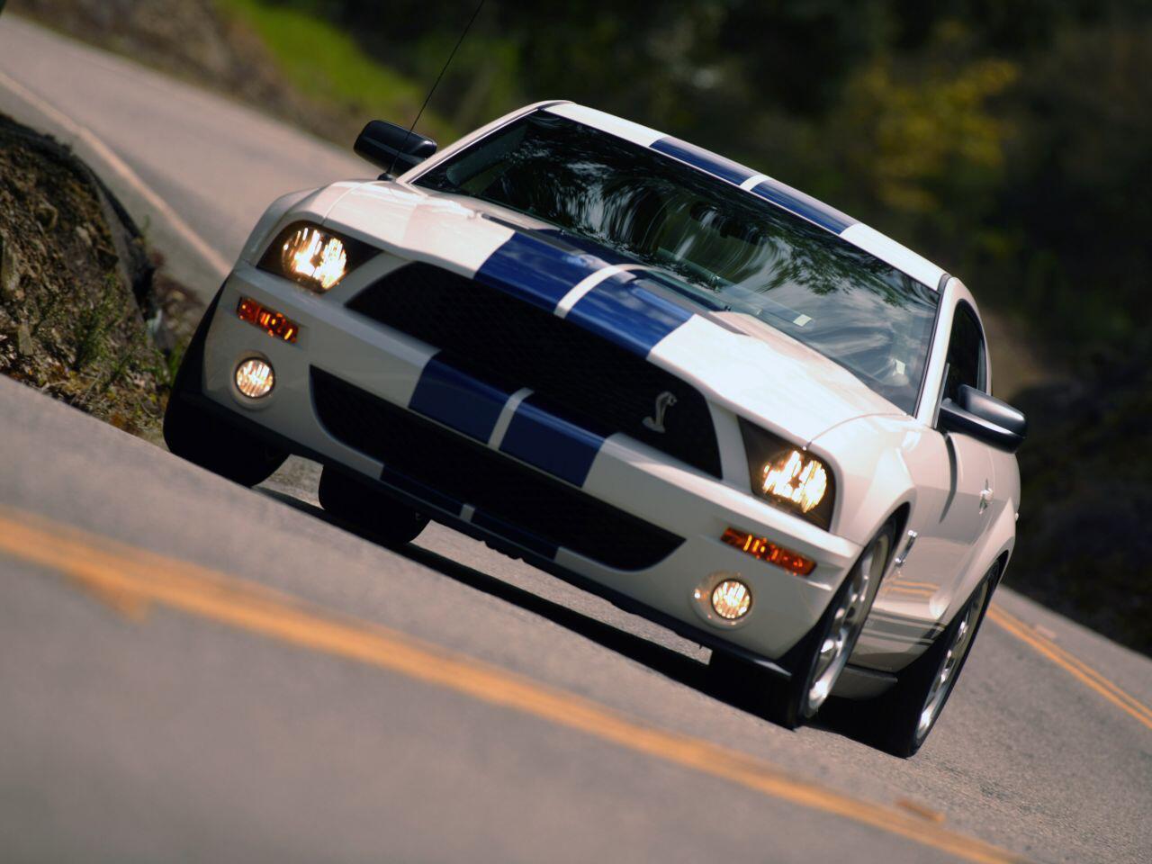 Bild zu Die Rückkehr einer Legende: Der Ford Shelby GT 500 der fünften Baureihe