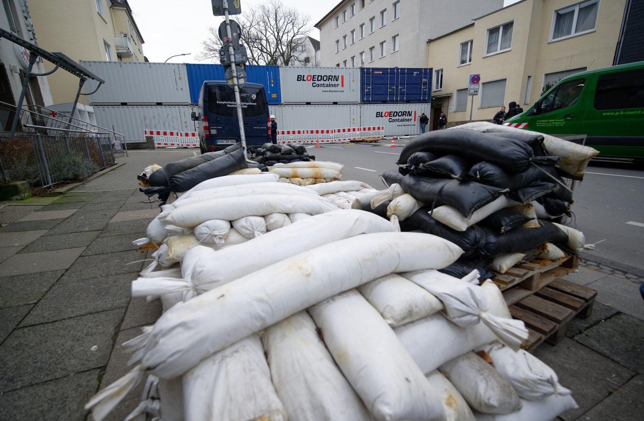 Bild zu Vierfacher Bombenverdacht in Dortmund
