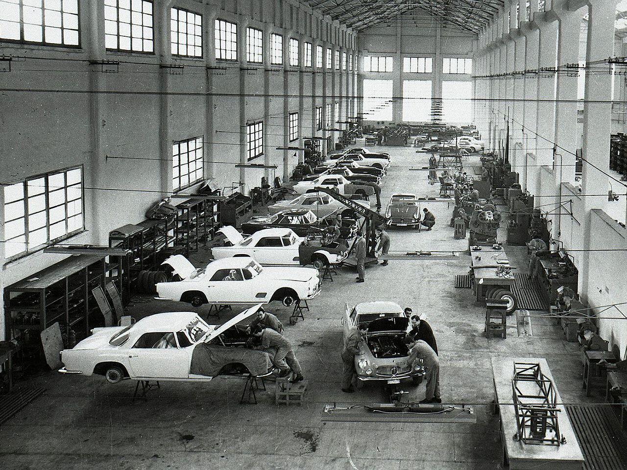 Bild zu Maserati-Manufaktur in Bologna