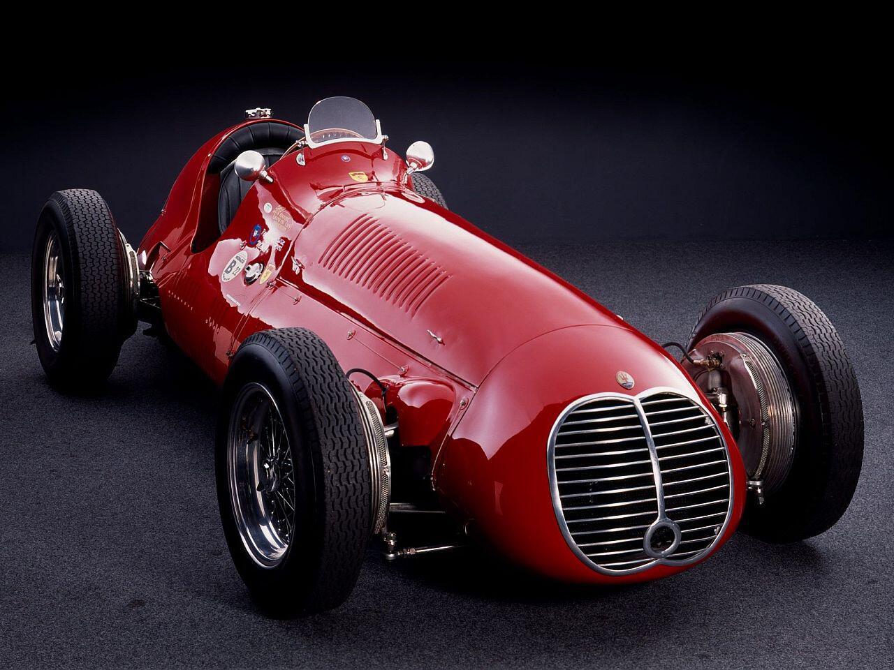 Bild zu Maserati 4CLT Monoposto von 1948