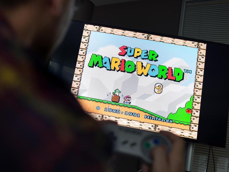 Bild zu Super Mario