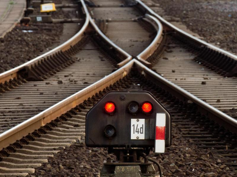 Bild zu Schienennetz
