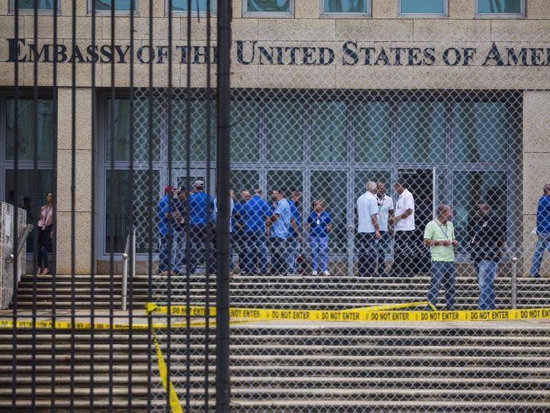 Bild zu US-amerikanische Botschaft auf Kuba
