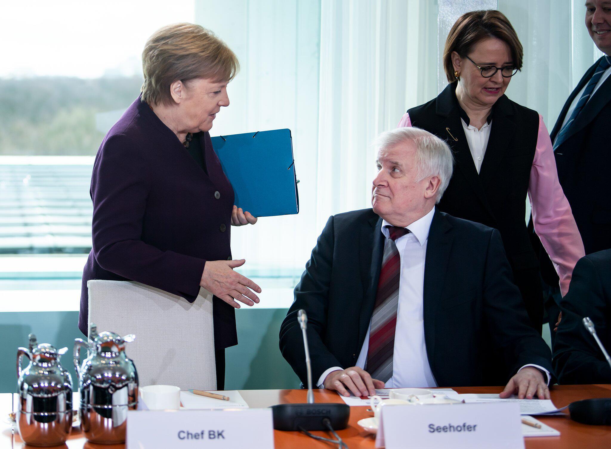 Bild zu 11. Integrationsgipfel im Bundeskanzleramt