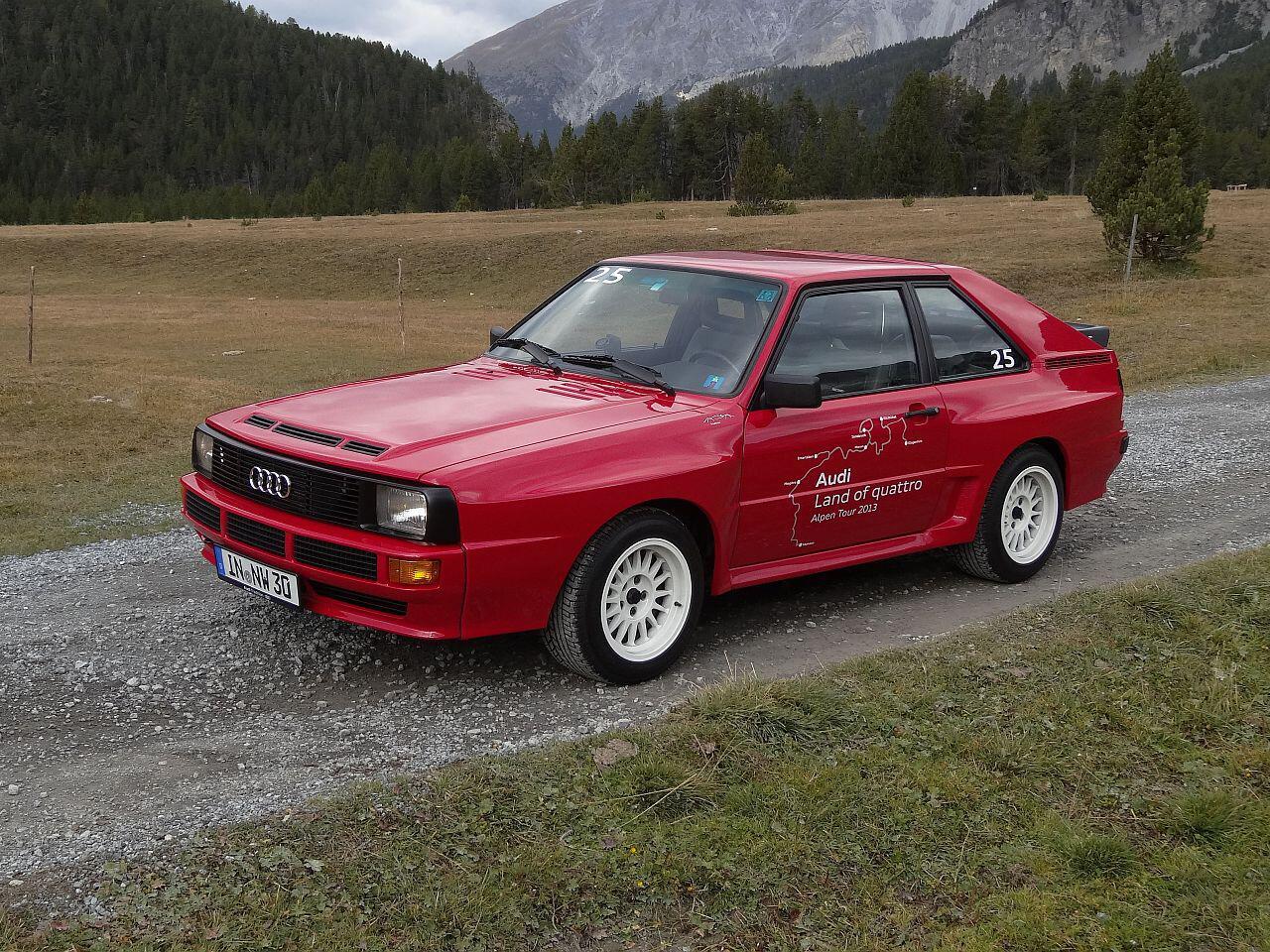 Bild zu 30-jähriges Jubiläum: Der Allrad-Klassiker Audi Sport Quattro