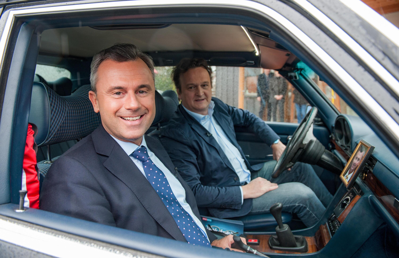 Bild zu Norbert Hofer, FPÖ, Hanno Settele, Wahlfahrt
