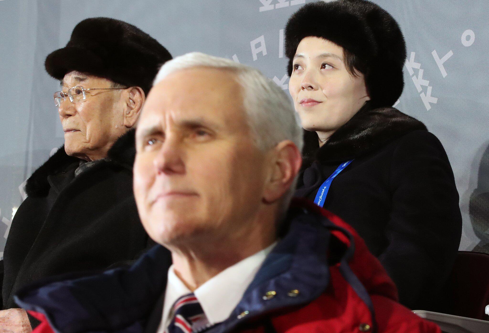 Bild zu Nordkorea soll Treffen Pence abgesagt haben