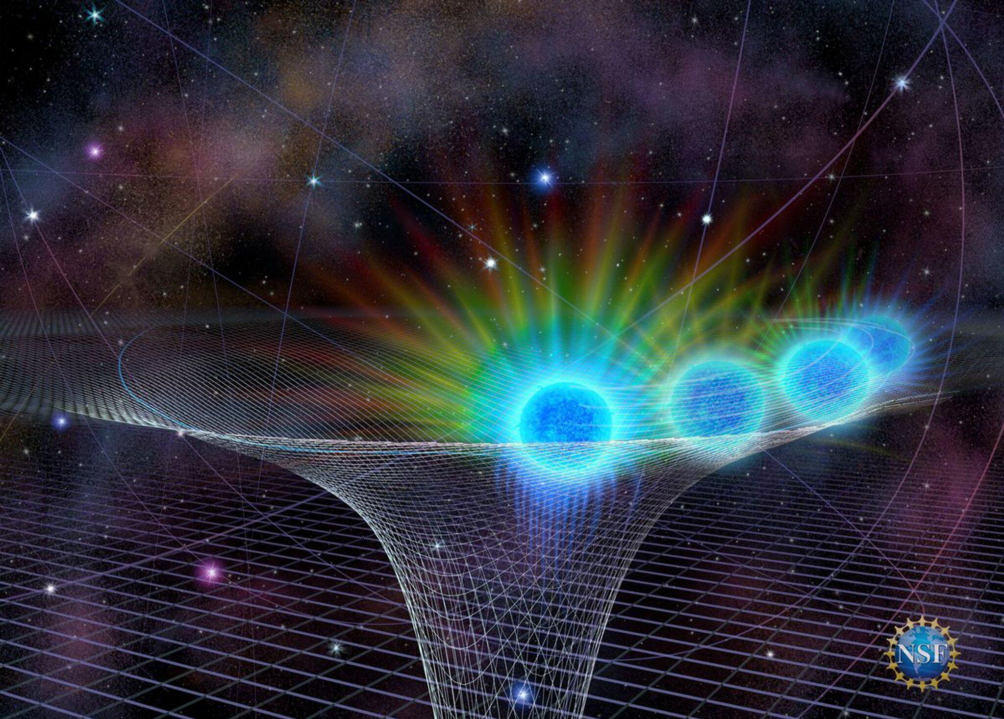 Bild zu Schwarzes Loch im Herzen der Milchstraße
