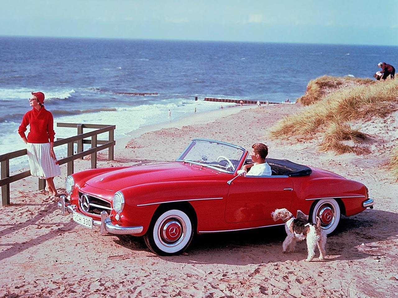 Bild zu Werbefoto auf Sylt aus den 1950er-Jahren