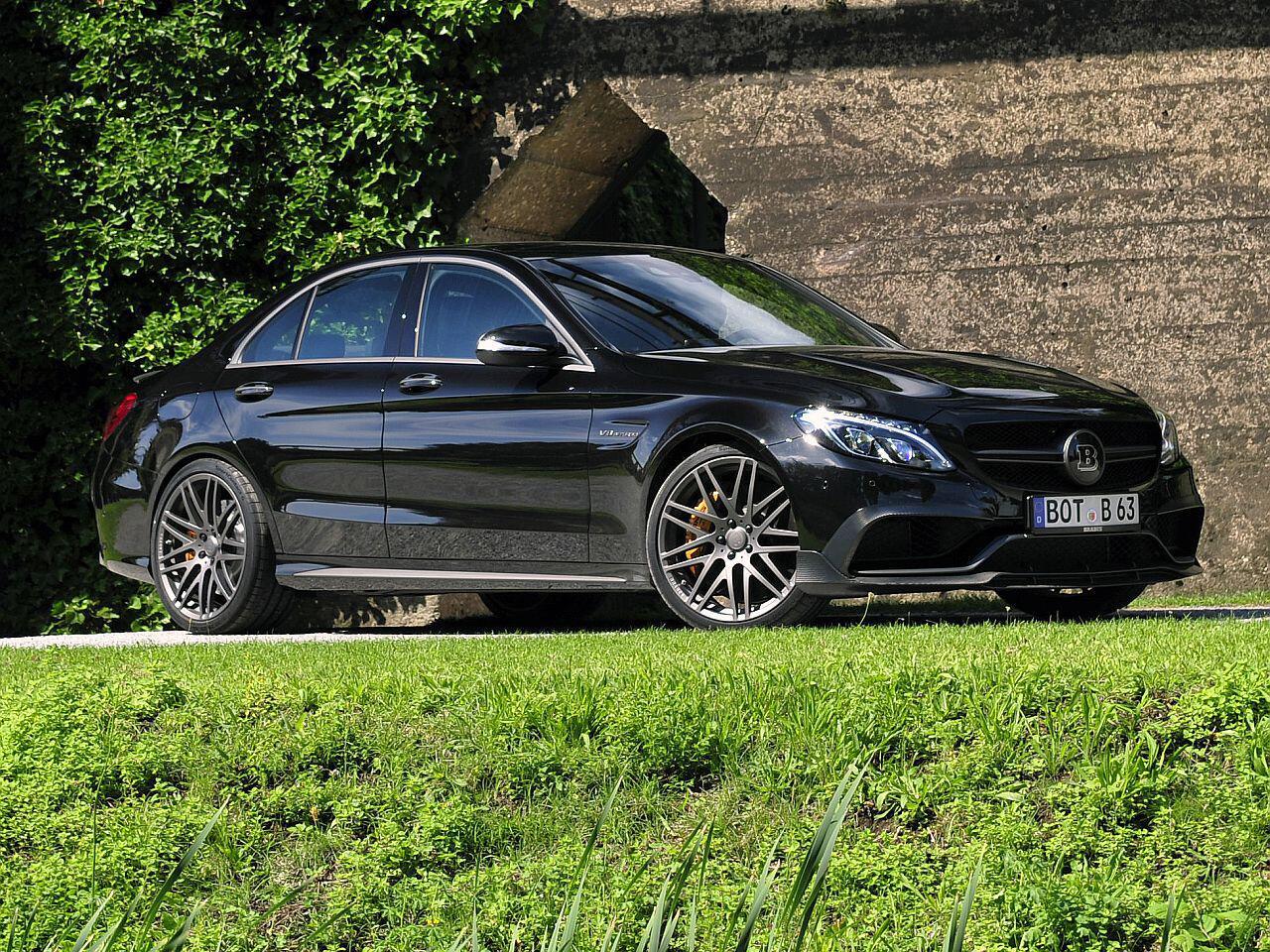 Bild zu Mercedes C-Klasse von Brabus