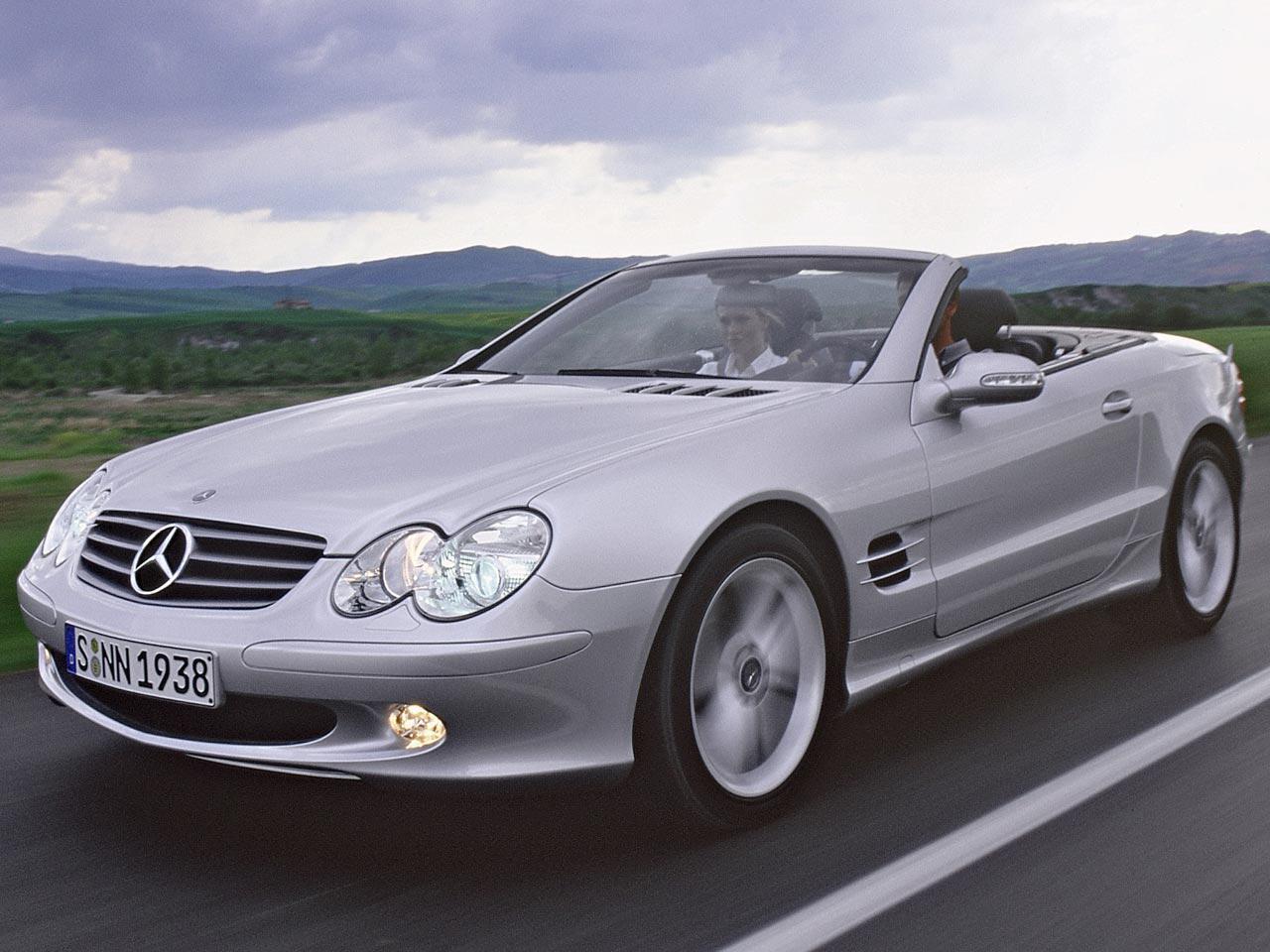 Bild zu Mercedes SL 350 (R 230)