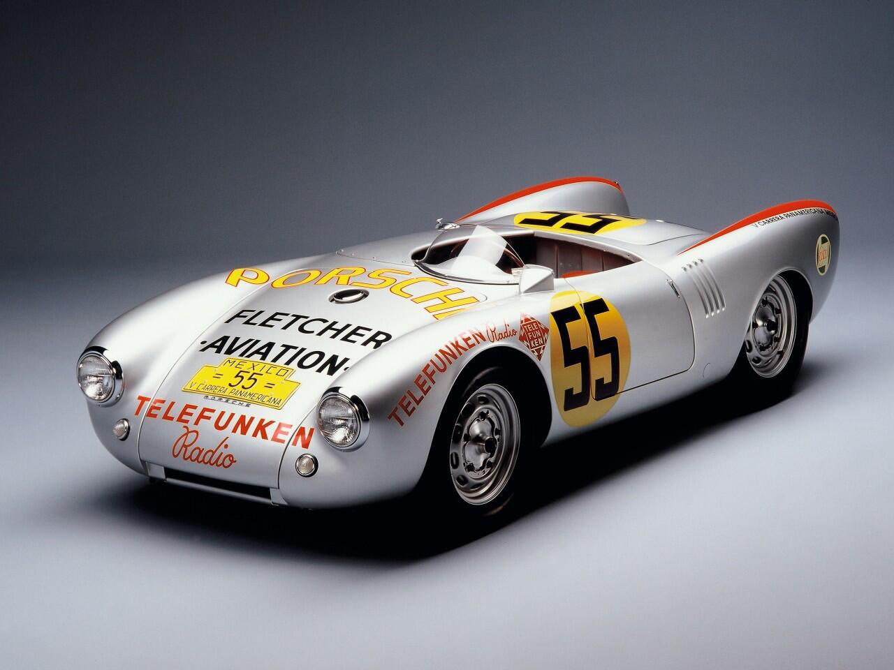 Bild zu Porsche 550 Spyder von 1954