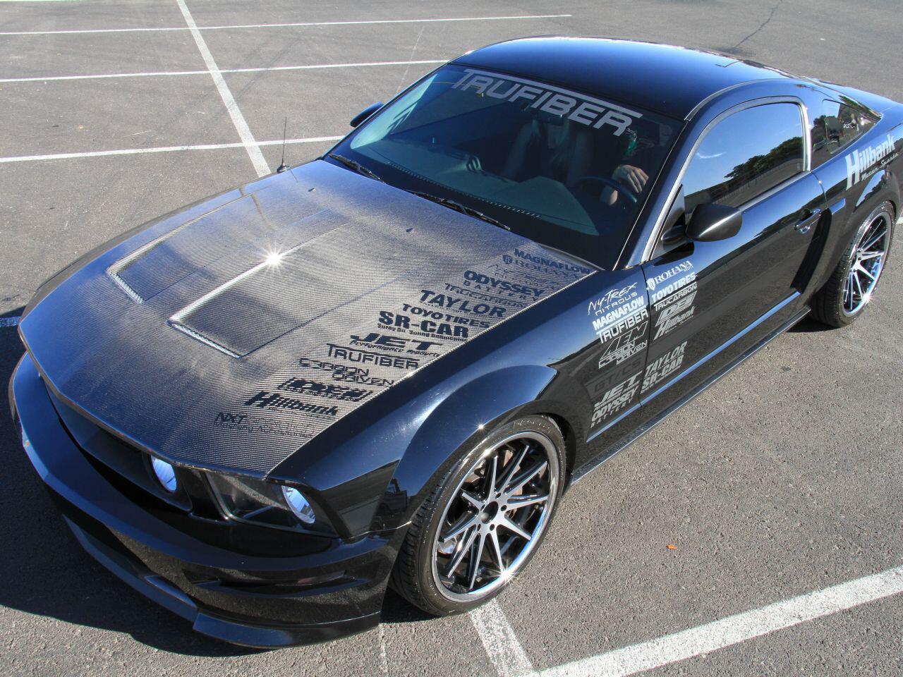 Bild zu Tuner Trufiber verpasste dem Ford Mustang eine einzigartige Lackierung