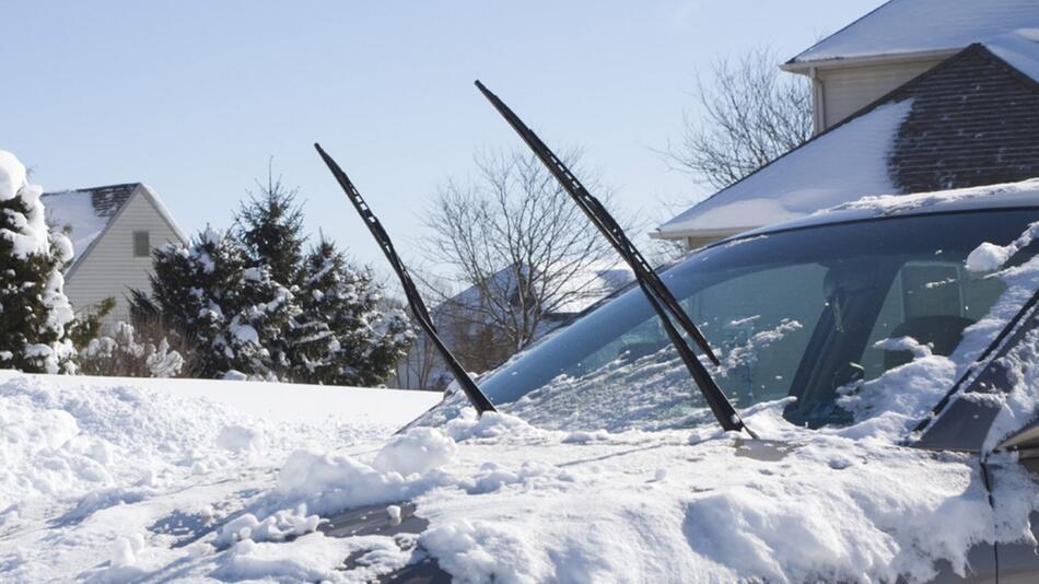 Scheibenwischer werden im Winter besonders gefordert
