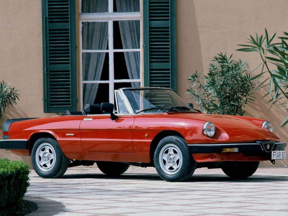 Bild zu Alfa Romeo Spider Aerodinamica