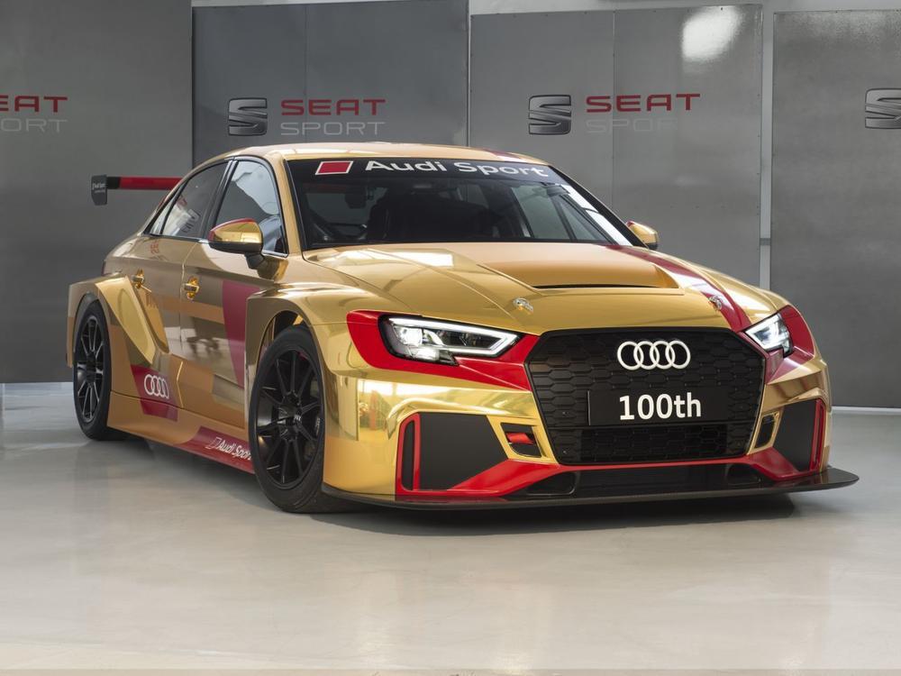 Bild zu Audi RS 3 LMS Jubiläumsmodell