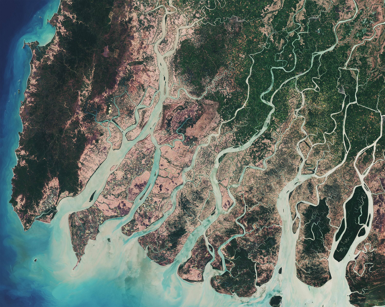 Bild zu Irrawaddy Delta in Myanmar