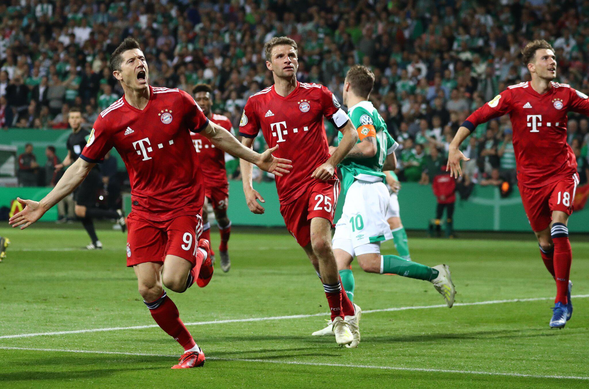 Bild zu Werder Bremen - FC Bayern München