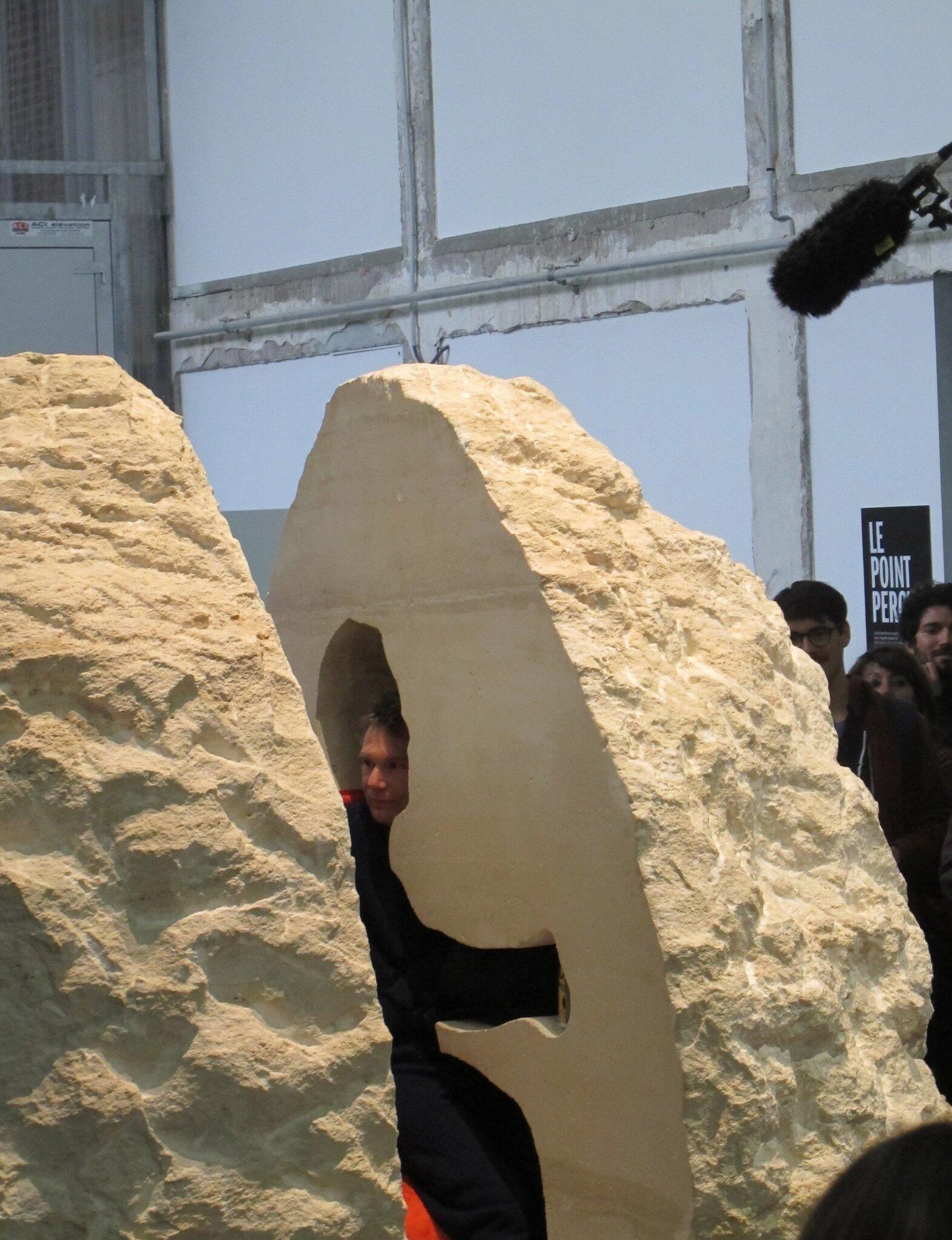 Bild zu Überleben im Felsen: Künstler sucht Grenzerfahrung