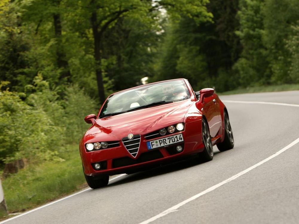 Bild zu Alfa Romeo Spider ab 2007