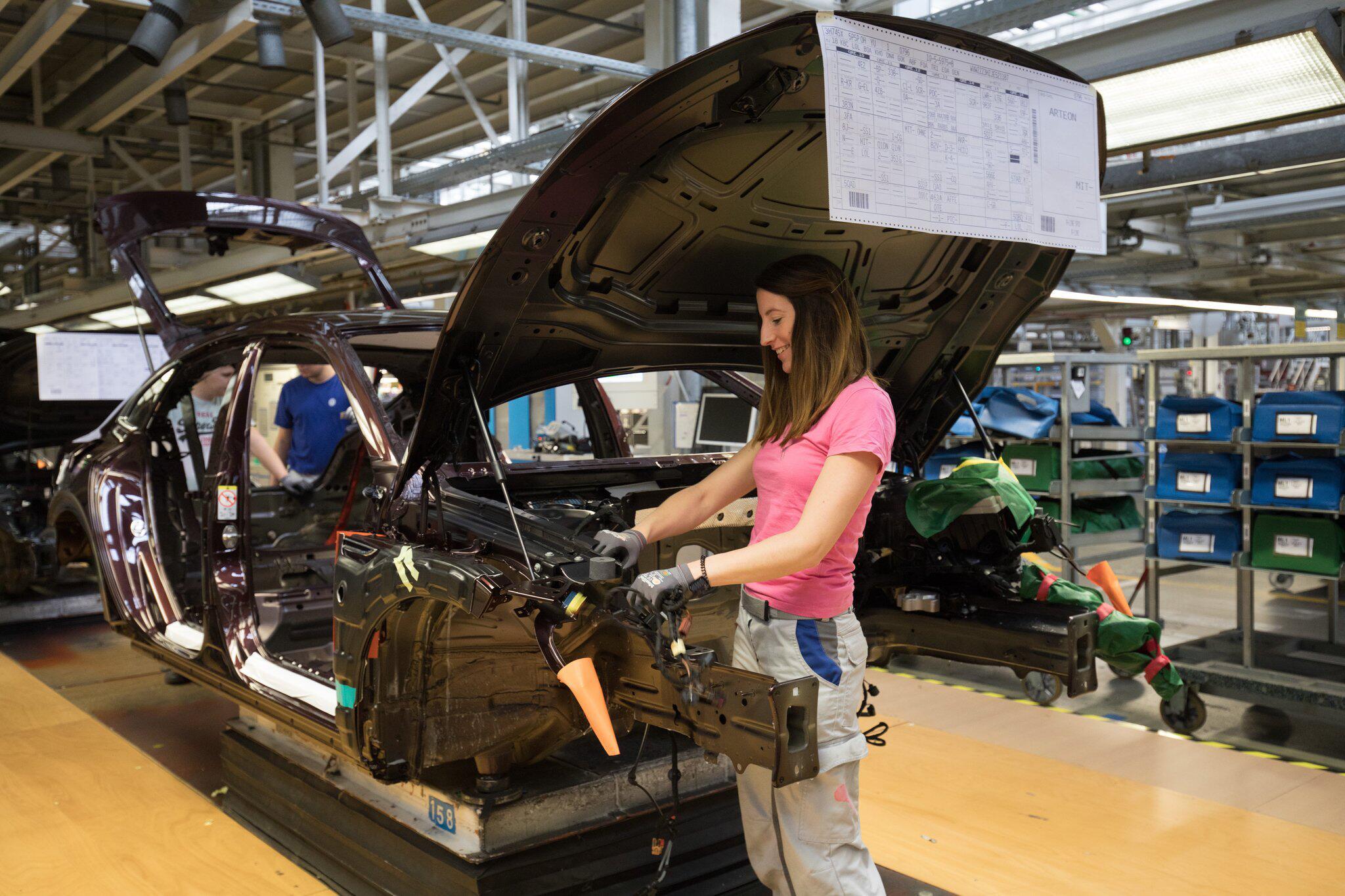 Bild zu VW - Produktion Emden