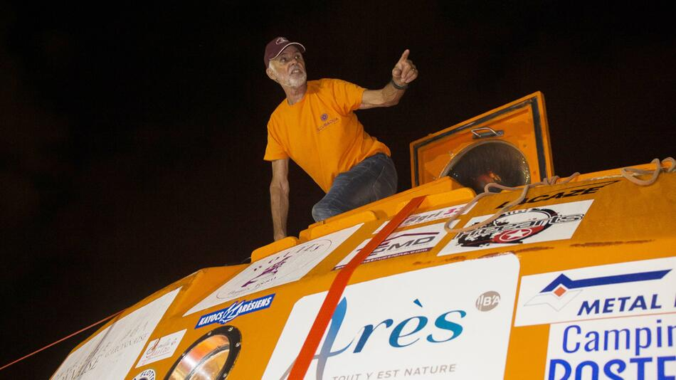 72-jähriger Abenteurer überquert den Atlantik