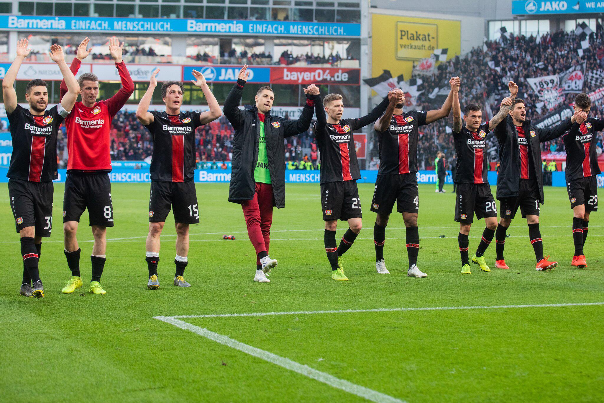 Bild zu Bayer Leverkusen - Eintracht Frankfurt