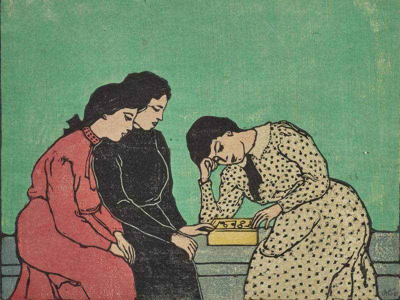 Bild zu Schirn-Ausstellung zum Farbholzschnitt